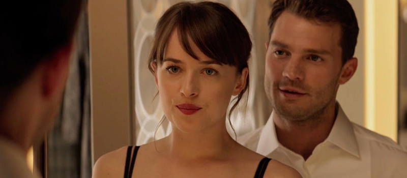 jamie dornan dakota johnson cinquanta sfumature di nero