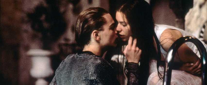 Leonardo DiCaprio in Romeo e Giulietta