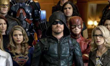 Crisis on Earth-X arrow flash supergirl