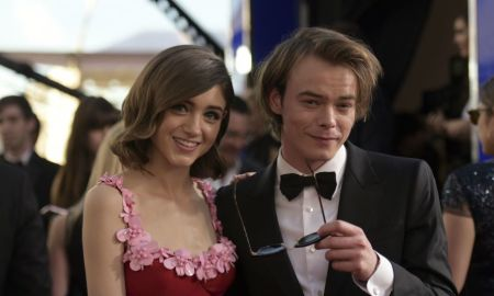 Natalia Dyer e Charlie Heaton