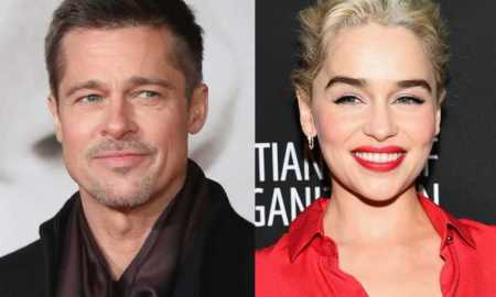 Game of Thrones Brad Pitt Emilia Clarke