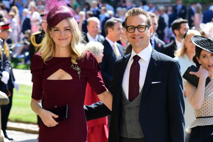 Gabriel Macht and Jacinda Barrett - suits