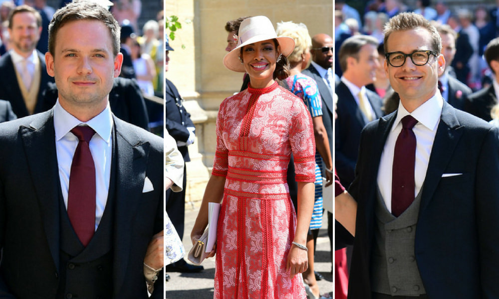 Suits: Tutto il cast al Royal Wedding di Meghan Markle