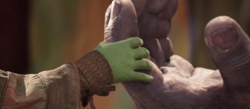 infinity war thanos gamora