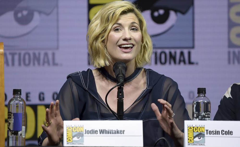 Doctor Who: Jodie Whittaker conquista tutti al panel del San Diego Comicon 2018