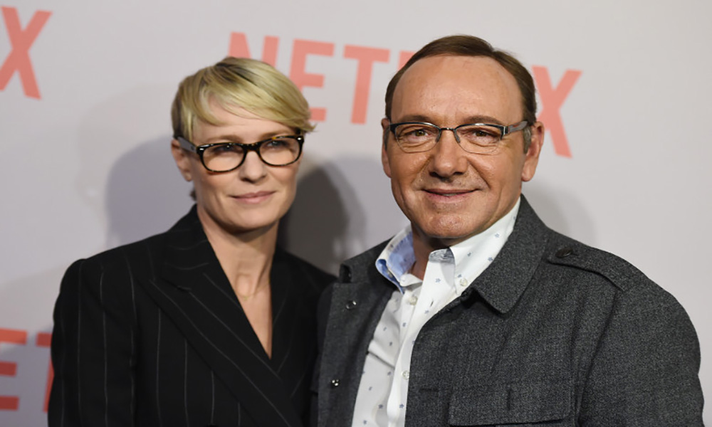Robin Wright Kevin Spacey House of Cards