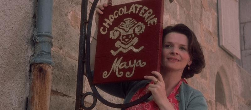 chocolat curiosità - juliette binoche