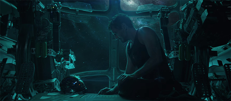 avengers 4 trailer endgame tony stark