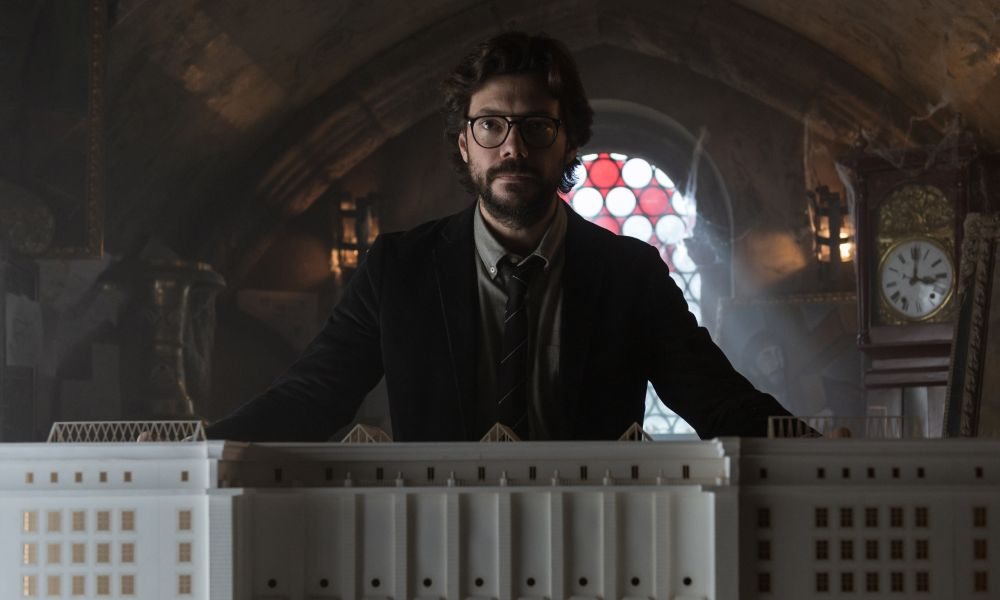 La casa di carta 3 il trailer e le immagine della nuova for La casa di carta il genio dello streaming