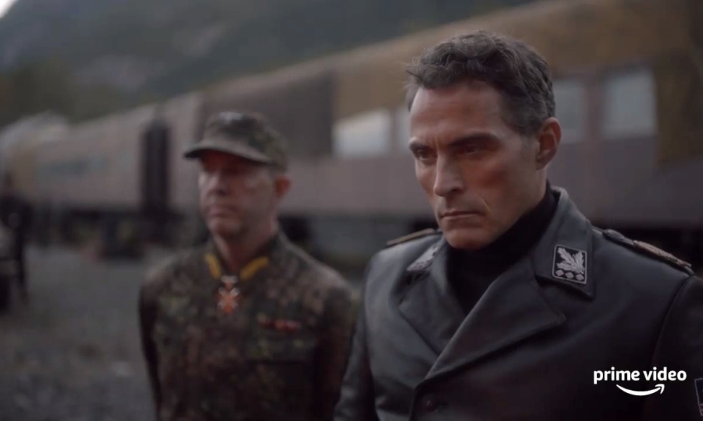 The man in the high castle 4 - Una scena della serie TV