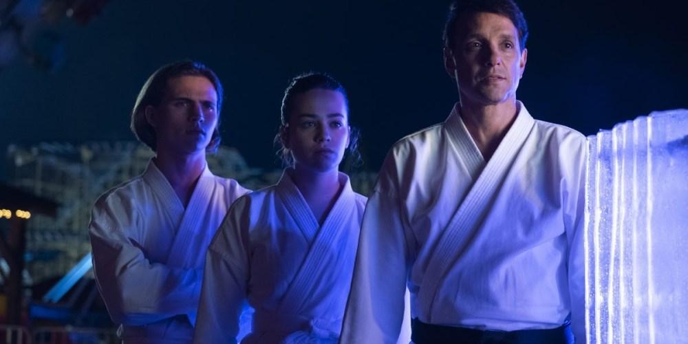 Cobra Kai - Una scena della seconda stagione