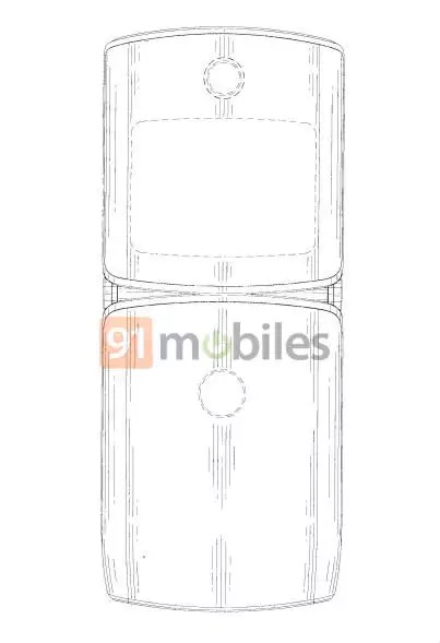 Motorola RAZR 2019: brevetto ne svela il design