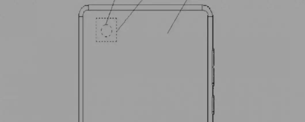 Xiaomi brevetta smartphone con cam in-display