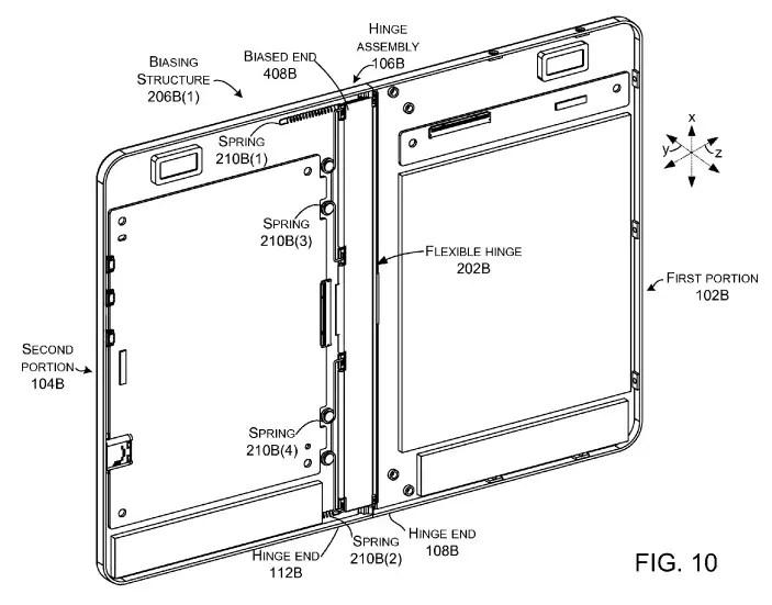 Microsoft al lavoro su un tablet pieghevole, tutte le immagini