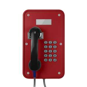 Weatherproof telephone / vandal-proof / IP66 / IP67