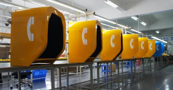 JR-TH-01 Vozell Cabina Telefonica