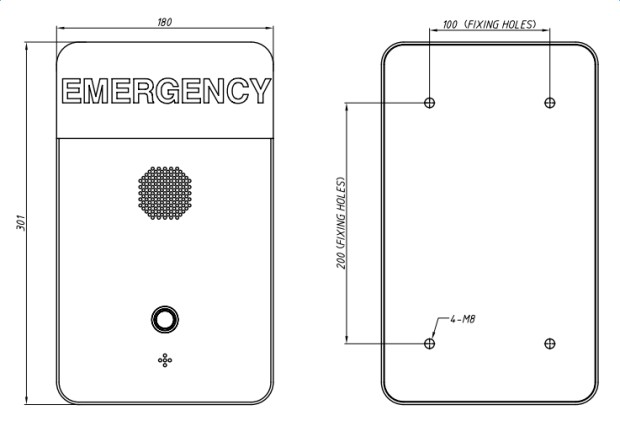 JR-TP-01 Torre Telefonica Emergencias
