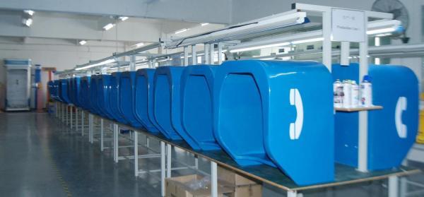 Cabinas Telefonicas JR-TH-01