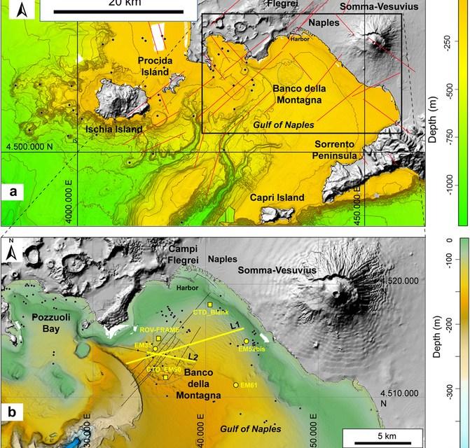 Un nuovo vulcano nel Golfo di Napoli? Per ora solo sbuffi sott'acqua