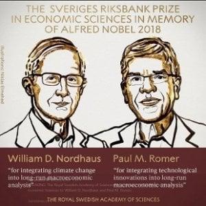 L'innovazione tecnologica al servizio dell'ambiente è il vero motore dell'economia: ecco il Nobel per l'Economia