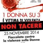 25 novembre_NON-TACERE_locandina