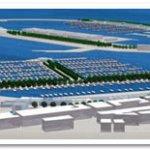 Il plastico del nuovo porto di Anzio