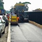 La nuova pista ciclabile di Via Cerciabella a Cisterna di Latina