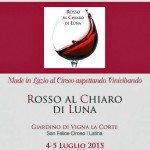 Rosso Al Chiaro Di  Luna - 4 e 5 luglio 2015