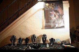 L'esposizione di gioielli de Il Pomod'oro
