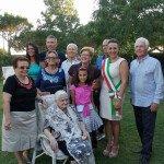 Signora Maria Famiglia e Sindaco