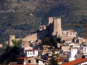 Vista dall'alto del Castello di Itri