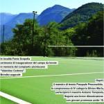 Picinisco: Torna a vivere il campo da tennis.