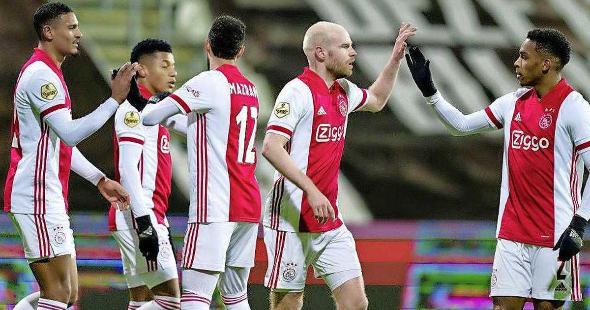 ajax will be cup against sc heerenveen