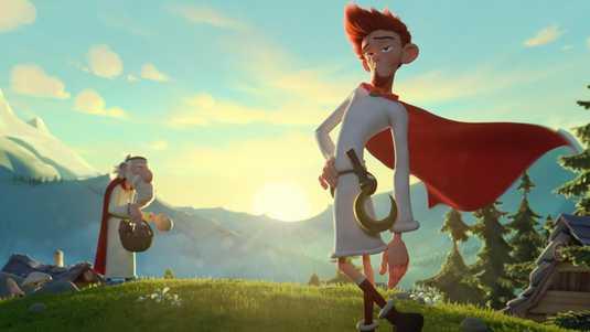 Dylan Haegens vertolkt het personage Teleferix in Asterix & het Geheim van de Toverdrank