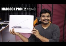 Apple Macbook Pro Unboxing in Telugu