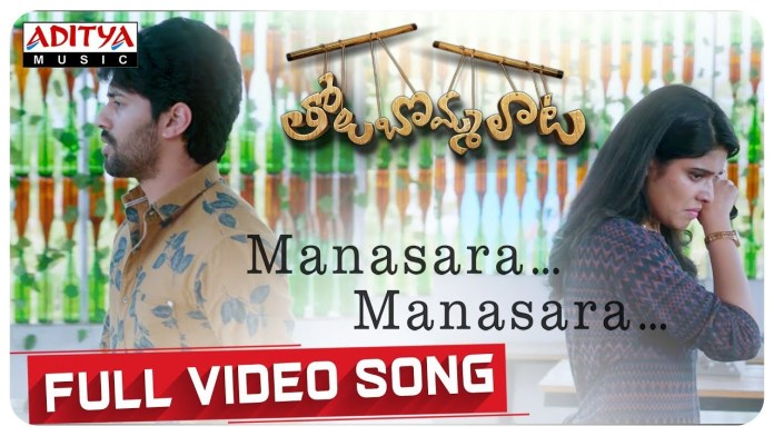 Manasara Manasara Video Song Download