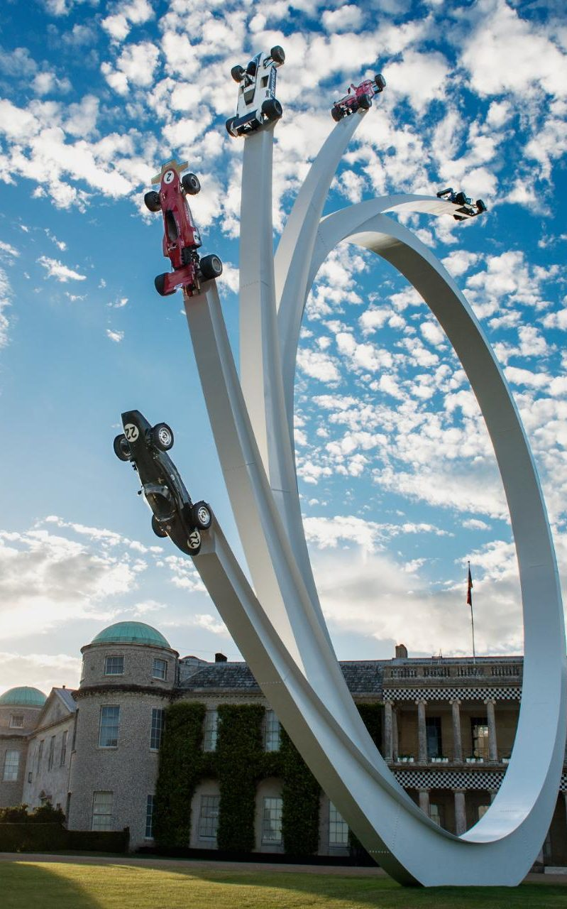 Goodwood Festival Of Speed Sculpture Celebrates The Life