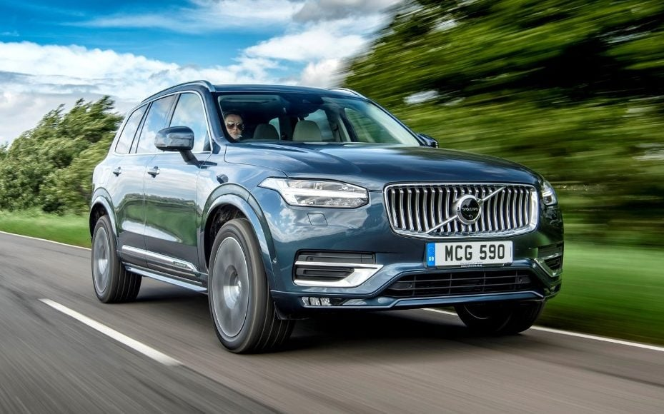 volvo xc90 b5 review mild hybrid technology makes this seven