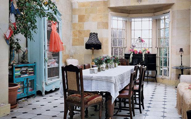 Interiors inside Pearl Lowes vintageinspired Somerset home