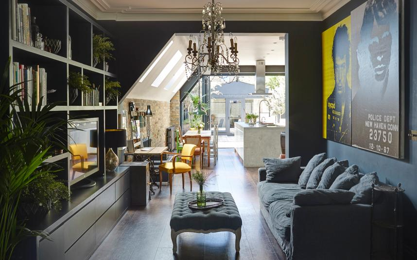 how to decorate my narrow living room lighting fixtures for interiors: a victorian terrace with industrial-chic style
