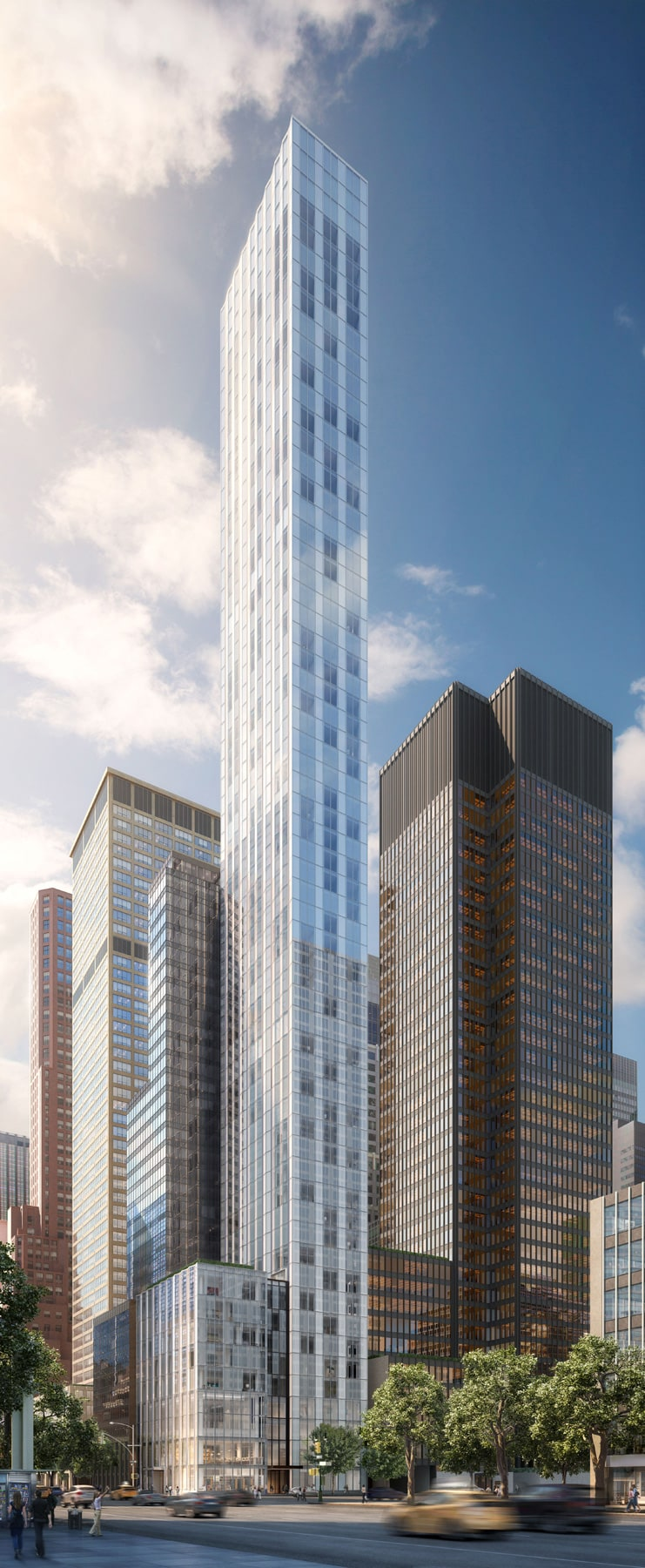 Melbournes new pencil tower to be one of worlds