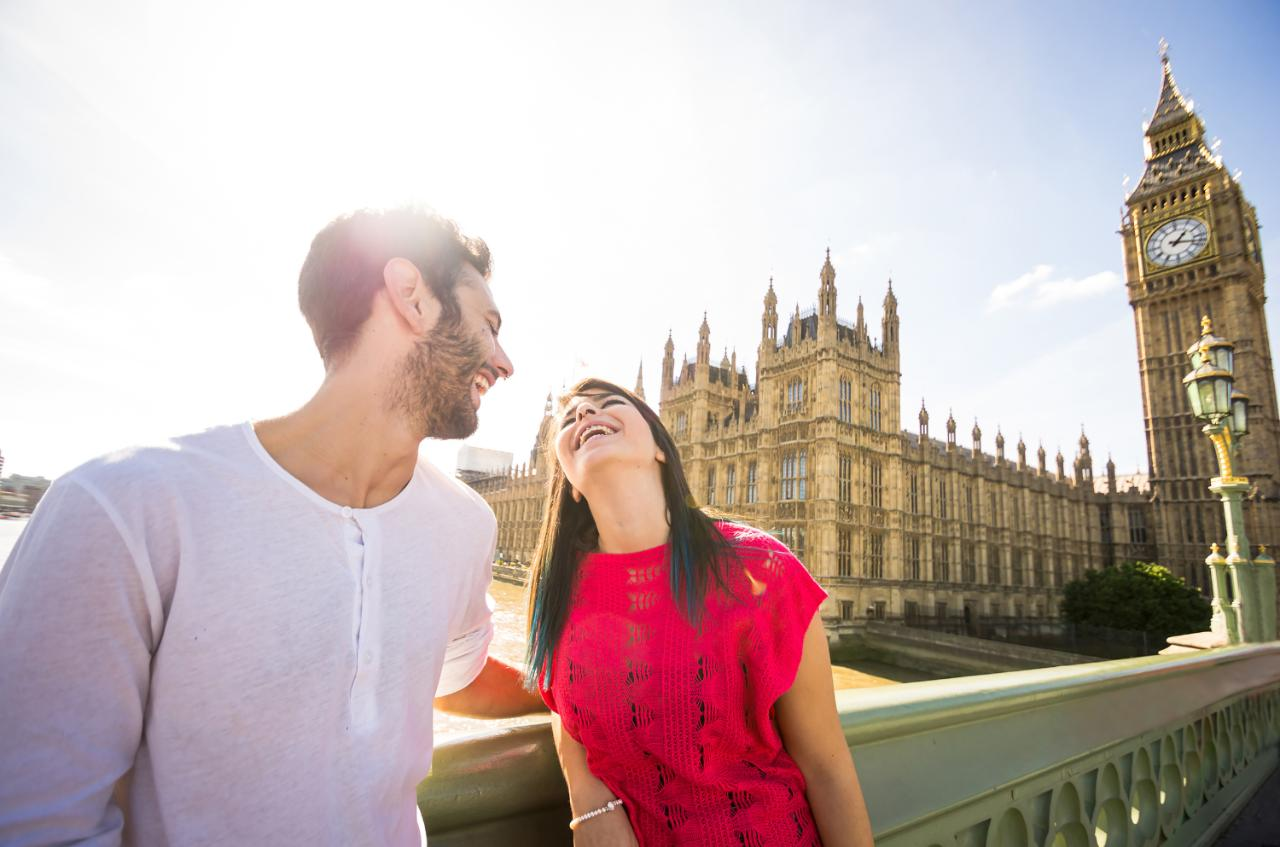 Britains Most And Least Romantic Places