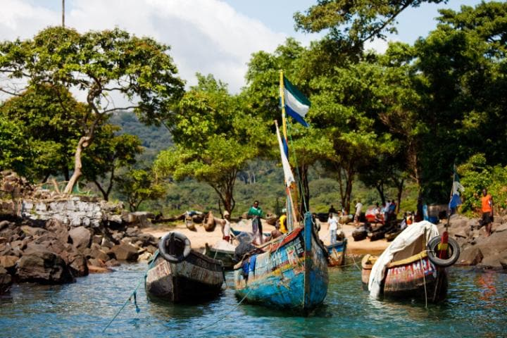 Sierra Leone has had a difficult history, but tour operators hope that tourism can help its regeneration