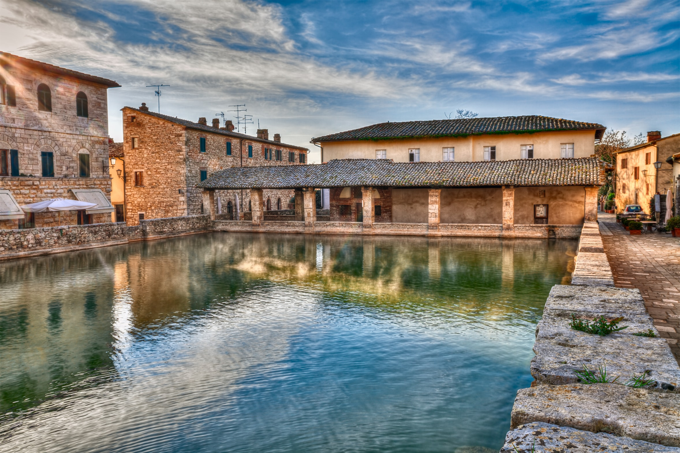 Bagno Vignoni  Italys 19 most beautiful villages  Travel