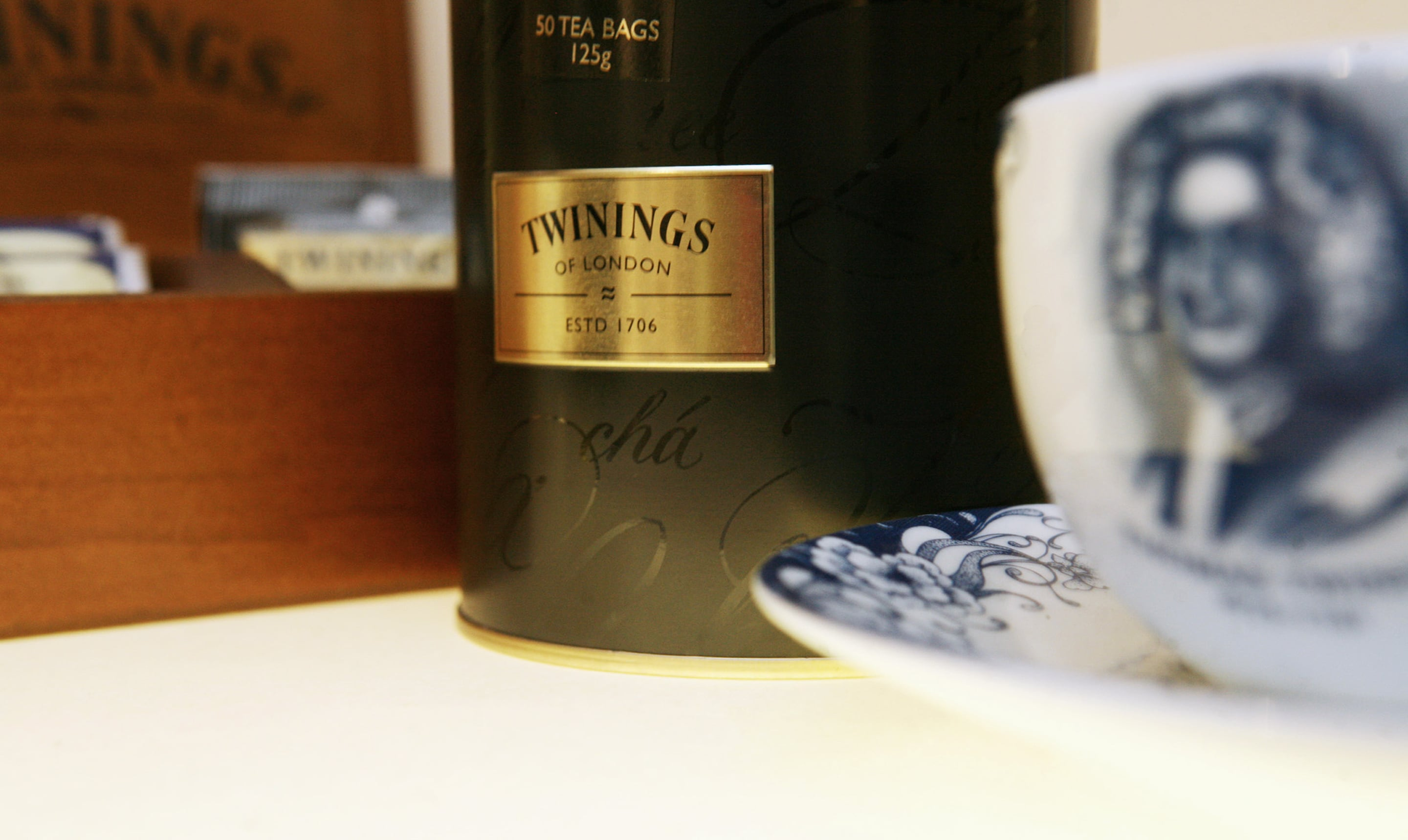 Twinings is the one of the oldest holders of a Royal Warrant