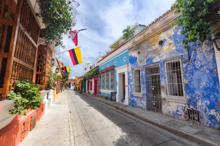 The colourful city of Cartagena