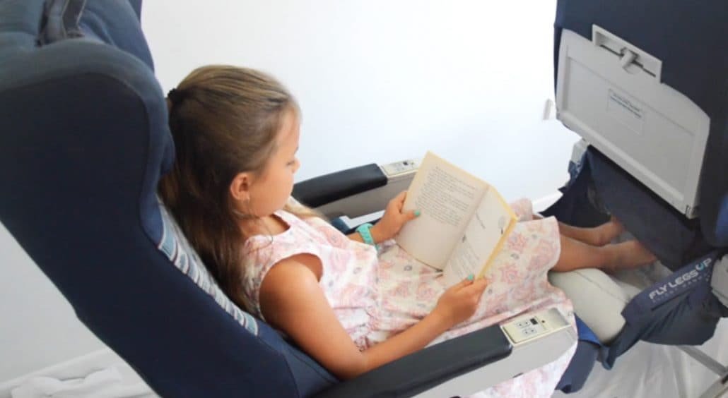 The plane hammock gadget that could help kids sleep the entire flight