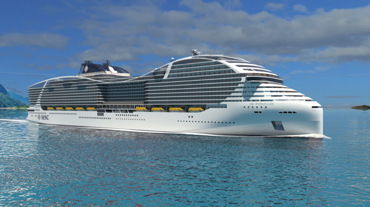 Plans Unveiled For One Of The Worlds Biggest Cruise Ships