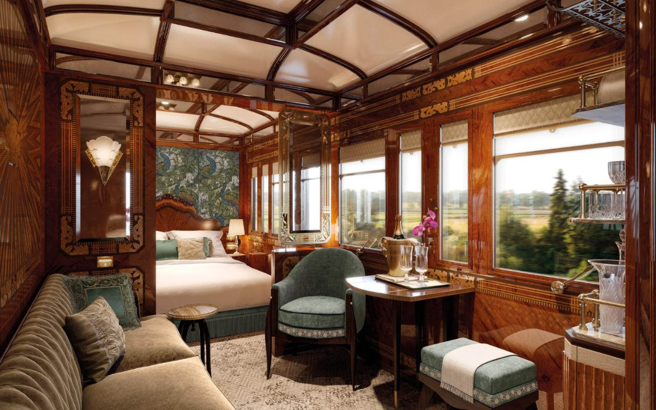 Venice SimplonOrientExpress raises the bar for luxury train travel with new Grand Suites