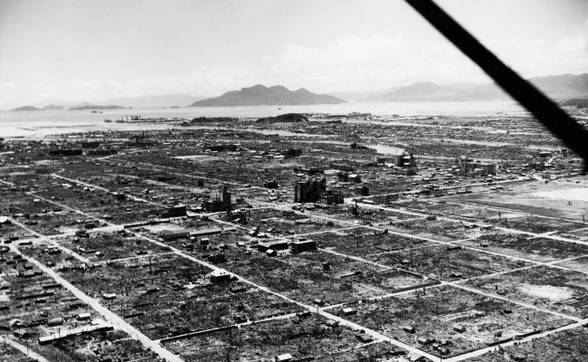 Hiroshima Anniversary Cities Destroyed By War Then Now